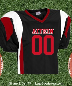 Adult Twister Steelmesh Football Jersey Design Zoom